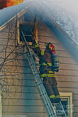 Fireground Photograph - Keep Fire In Your Life No 2 by Tommy Anderson