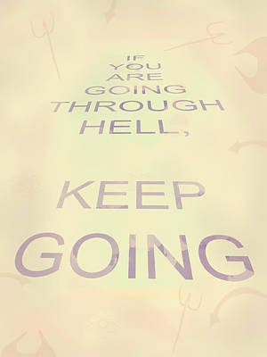 Abstract Graphics - Keep Going by Keshava Shukla