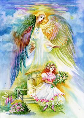 Keep Her Safe Lord Art Print