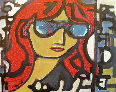 Painting - Keep It Cool by Todd  Peterson