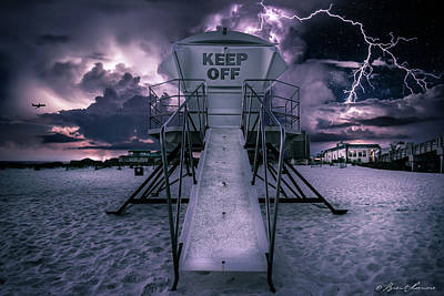 Keep Off Art Print by Brent Shavnore