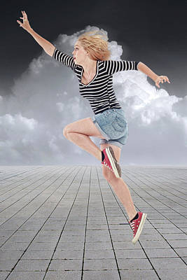 Running Wall Art - Mixed Media - Keep On Running by Smart Aviation