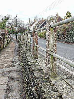 Photograph - Keep On The Path In Bramber by Dorothy Berry-Lound