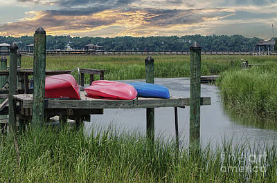 Photograph - Keep Paddling by Dale Powell