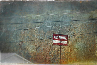 Photograph - Keep Praying... Harlan County by Lars Lentz