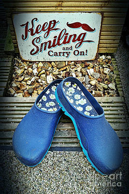 Photograph - Keep Smiling And Carry On by Vix Edwards