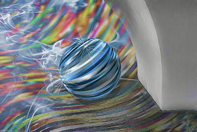 Digital Art - Keep The Ball Rolling by John Haldane