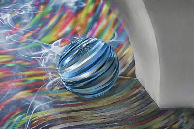 Digital Art - Keep The Ball Rolling by John Haldane