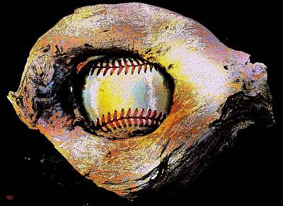 Digital Art - Keep Your Eye On The Ball by Cliff Wilson