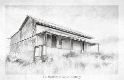 Keepers Cottage Photograph - Keeper's Cottage by Jan Pudney