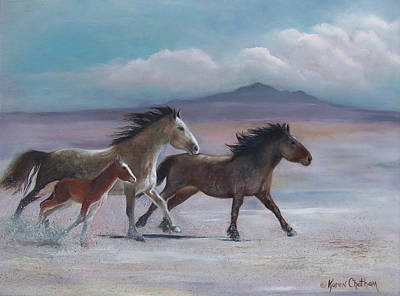 Painting - Keepers Of The Desert by Karen Kennedy Chatham