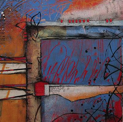 Color Mixed Media - Keeping It Together by Laura Lein-Svencner