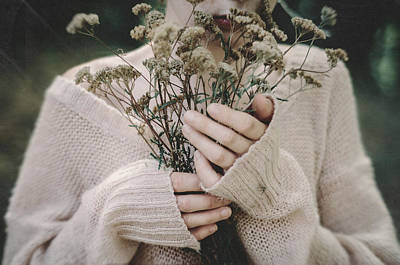 Photograph - Keeping Warmth. Prickle Tenderness by Inna Mosina
