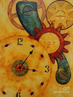 Keeping Time Art Print by Tracy Sorensen