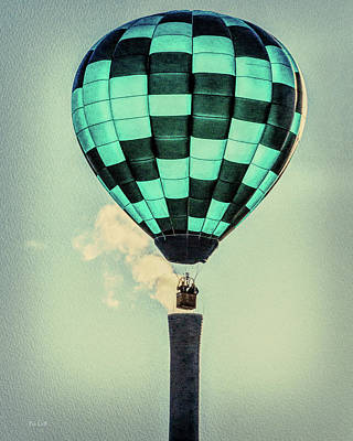Keeping Warm As You Float Art Print by Bob Orsillo