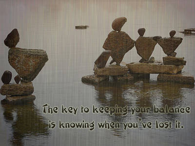 Digital Art - Keeping Your Balance by Leslie Montgomery