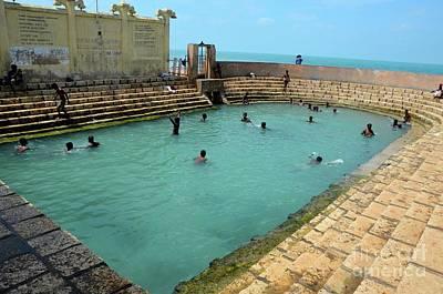 Photograph - Keerimalai Fresh Water Spring Tank By Ocean Water Jaffna Sri Lanka by Imran Ahmed