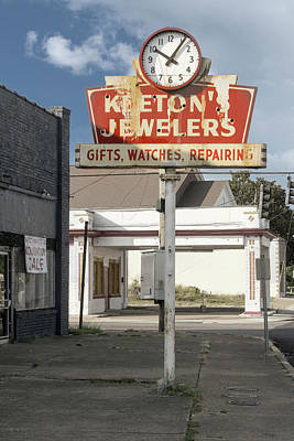 Photograph - Keetons Jewelers by Sharon Popek