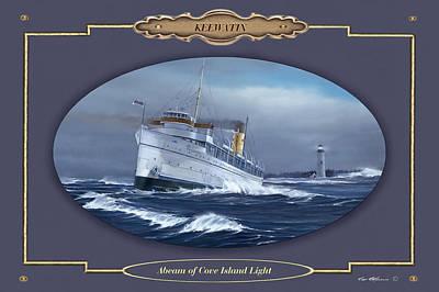 Great Lakes Ship Painting - Keewatin by Captain Bud Robinson