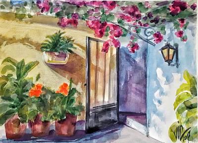 Painting - Kefalonian Paradise by Vali Irina Ciobanu