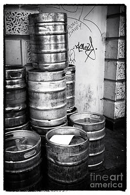 St. John Photograph - Keg O Beer by John Rizzuto