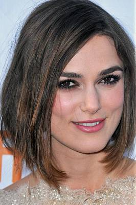 2010s Makeup Photograph - Keira Knightley At Arrivals For A by Everett