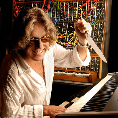 Photograph - Keith Emerson By Gene Martin by David Smith