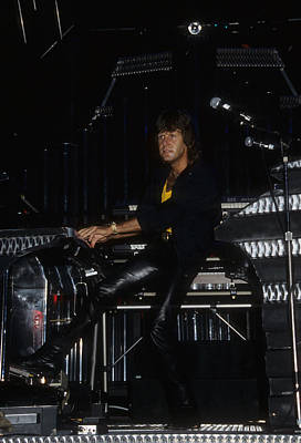 Photograph - Keith Emerson Of Elp by Rich Fuscia