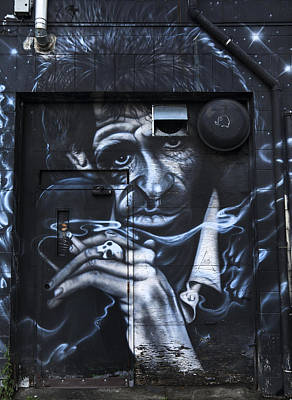 Photograph - Keith Richards Graffiti by Theresa Tahara