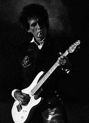 Keef Photograph - Keith Richards by Wayne Doyle