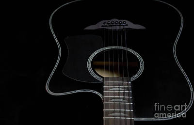 Photograph - Keith Urban Guitar by Valerie Morrison