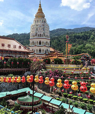 Photograph - Kek Lok Si Temple by Mireille Roc