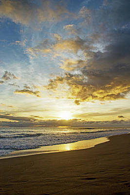 Photograph - Kekaha Sunset by Angie Schutt