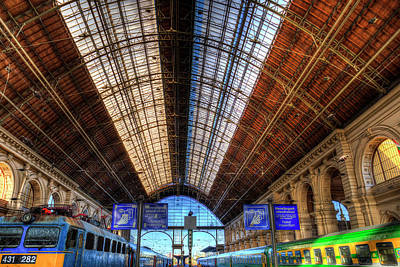 Photograph - Keleti Railway Station Budapest by David Pyatt