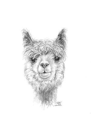 Drawing - Kellea by K Llamas