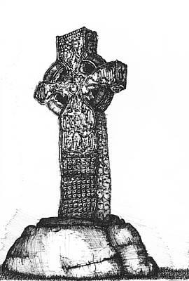 Kells High Cross Original by Theresa Mozinski