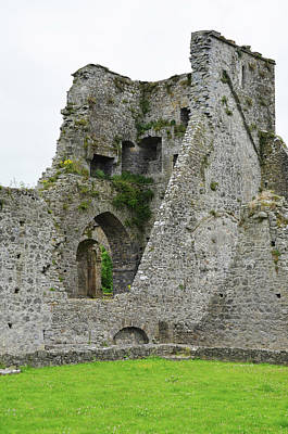 Photograph - Kells Priory Ireland Tower House Ruins County Kilkenny by Shawn O'Brien