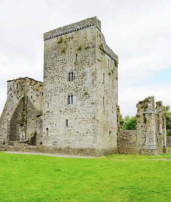 Photograph - Kells Priory Irish Medieval Castle Tower House County Kilkenny Ireland by Shawn O'Brien