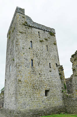 Photograph - Kells Priory Restored Medieval Irish Castle Tower House County Kilkenny Ireland by Shawn O'Brien