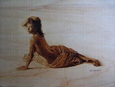 Pyrography - Kelly by Dino Muradian