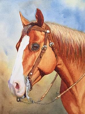 Rawhide Painting - Kelly Joe by Valerie Coe