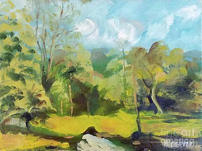 Painting - Kelly Ridge 2 by Barbara Oertli
