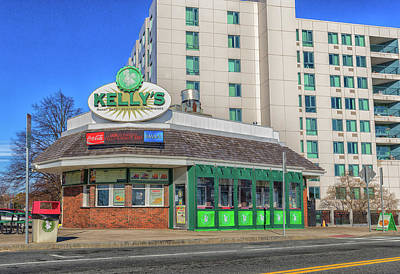 Photograph - Kelly's On Revere Beach by Brian MacLean