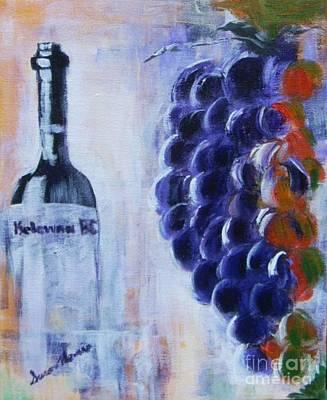 Winery Painting - Kelowna Bc by Susan Harris