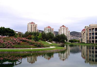 Photograph - Kelowna Waterfront Park by Will Borden