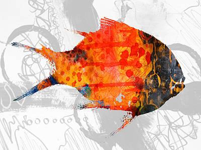 Mixed Media - Kelp Runner by Nancy Merkle