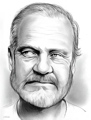 Drawings Rights Managed Images - Kelsey Grammer Royalty-Free Image by Greg Joens