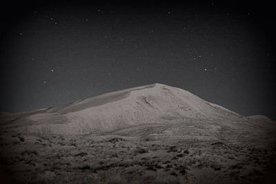 Photograph - Kelso Dunes At Night by Nature Macabre Photography