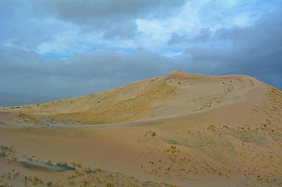 Photograph - Kelso Dunes Blue Sky by Kyle Hanson