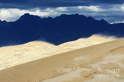 Photograph - Kelso Dunes California by Bob Christopher